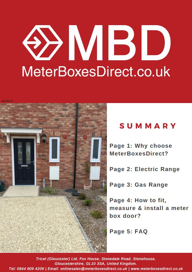 Electric and Gas Meter Boxes, Doors and Spare Parts ebook by MeterBoxesDirect