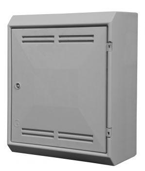 UK Standard Mark 2 Surface Mounted Gas Meter Box - (510x408x242mm)