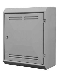UK Mark 2 surface mounted gas box door and frame with vents