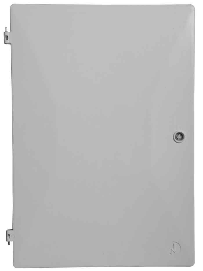 Door For Uk Standard Flush Fitted Meter Box 549x383mm