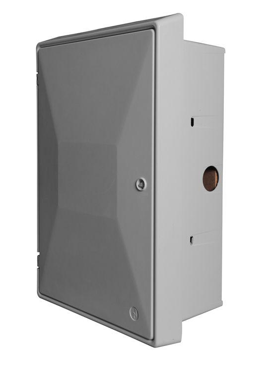 Meter Box Connectors : Uk standard electric meter box recessed mm