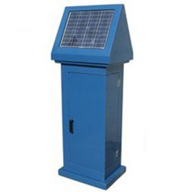 ATEC 11 Single Door Solar Kiosk (1710x620x480xmm)