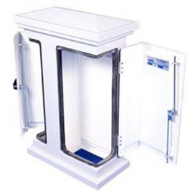 ATEC 1 Double Door GRP Kiosk (860x595x310xmm)