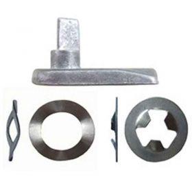 Aluminium Door Lock Kit