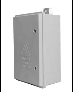 Pole Top Street Lighting Meter Box IP65 Rated (360 x 252 x 140mm)