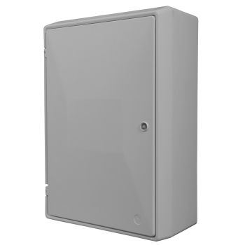 UK Standard Surface Mounted Electric Meter Box - (596 x 410 x 220mm)