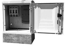 concrete plinth kiosk